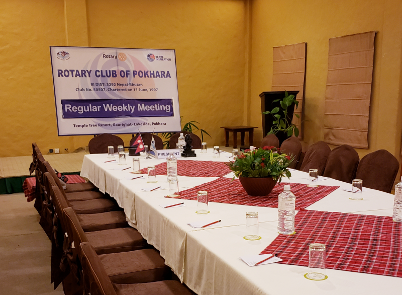 Visiting the Club of Pokhara, Nepal on Oct 8th 2018
